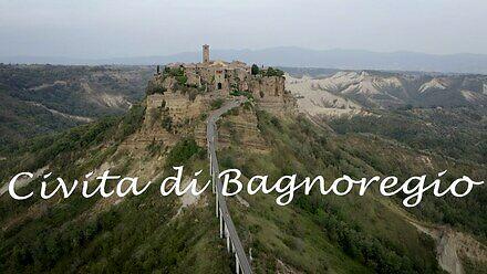 Civita di Bagnoregio - umierające średniowieczne włoskie miasto