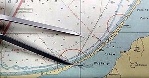 Stara szkoła nawigacji - wyznaczanie pozycji obserwowanej