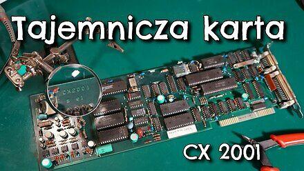 Tajemnicza polska karta CX-2001