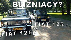 Włoski Fiat 125 i Polski Fiat 125p  - różnice