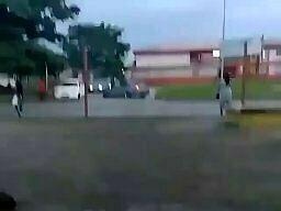 Zaskakujący finał driftu na ulicy