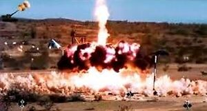 Pokaz siły i precyzji pocisku artyleryjskiego Excalibur M982