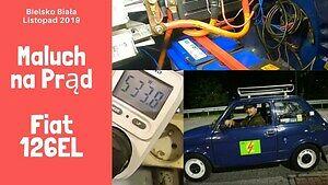 Elektryczny FIAT 126el z Bielska-Białej