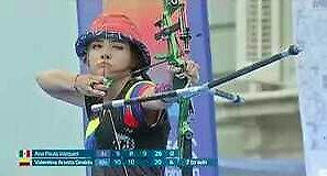 Zwyciężczyni mistrzostw świata juniorów w łucznictwie