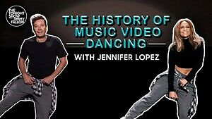 Historia teledysków muzycznych zatańczona przez seksowną Jennifer Lopez