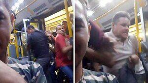 Poranek w brazylijskim metrze