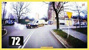 Szalony rajd pijanego kierowcy BMW ulicami miasta