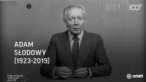 W wieku 96 lat zmarł Adam Słodowy, mistrz robienia czegoś z niczego