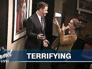 Jimmy Kimmel trolluje współpracowników swoją woskową figurą