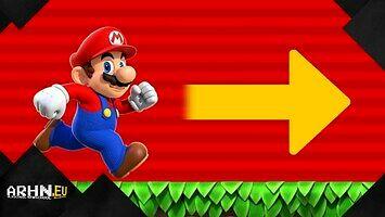 Dlaczego Mario biega w prawo?