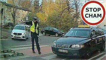 Wykroczenie i szybkie spotkanie z policją