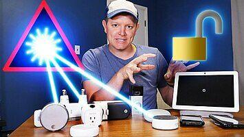 Otwieranie inteligentnego domu laserem - Smarter Every Day