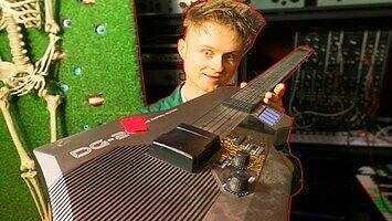 Niesamowita gitara - syntezator Casio DG20