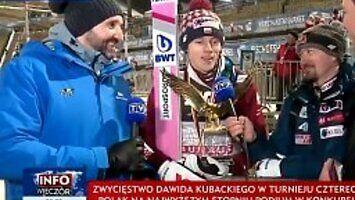 Dawid Kubacki i żenujące pytanie służbisty z TVP
