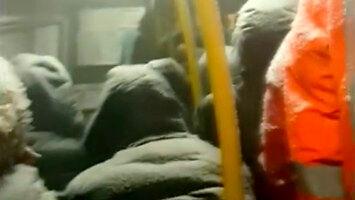 W Norylsku klimatyzacja w autobusach działa nadzwyczaj dobrze
