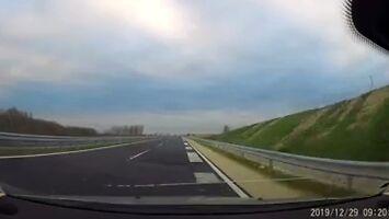 Grająca droga na Węgrzech