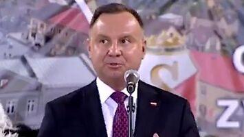 Andrzej Duda w roli twardego szeryfa po orzeczeniu Komisji Weneckiej
