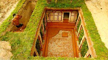 Taki inny Kawiak buduje sobie dom z basenem pod ziemią