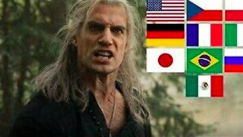 """Geraltowe """"I can't fucking sleep!"""" w dziesięciu językach"""