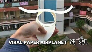 Nowa generacja samolotów z papieru