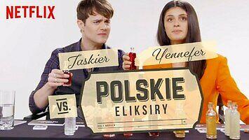 Jaskier i Yennefer kontra polskie eliksiry