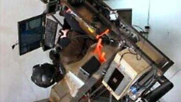 Symulator lotu 360 i okulary VR
