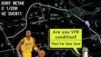 Zapis rozmów radiowych oraz radarowy ślad ostatniego lotu Kobe Bryanta