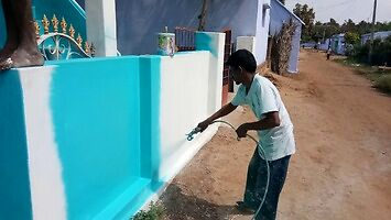 Jak szybko pomalować ogrodzenie wokół swojego domu?