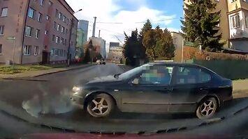 Groźny wypadek na skrzyżowaniu w Bielsku-Białej