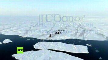 536 Rosjan odpłynęło na krze - akcja ratunkowa