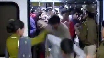 Kara za wejście do niewłaściwego wagonu w Indiach