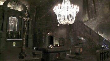 101 m pod ziemią - Kaplica św. Kingi w Wieliczce