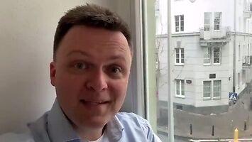 Hołownia zaczął kampanię wyborczą od słabego żartu o brzozie