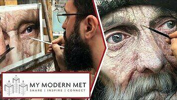 Hiperrealistyczne obrazy irańskiego artysty