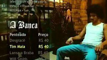 Reklama brazylijskiego fryzjera w stylu GTA
