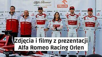 Tak prezentuje się Alfa Romeo Racing Orlen - nowy zespół Kubicy w F1