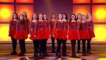 Taniec irlandzki w brytyjskim Mam Talent