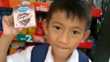 Chciał kupić nauczycielowi czekoladę