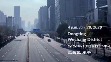 """""""Wuhan: The Long Night"""" - postapokaliptyczny widok opustoszałej metropolii"""