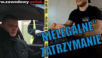"""Policjant komentuje """"nielegalne"""" zatrzymanie zawodowego Polaka"""