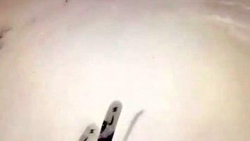 Stok narciarski z niespodzianką