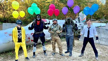 Dude Perfect i ich Airsoft Battle Royale