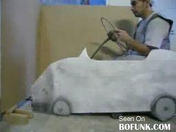 Amatorski test poduszki powietrznej