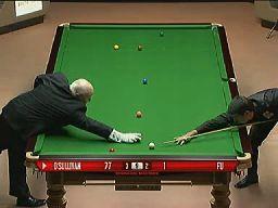 Snooker - Drobne drwiny z sędziego
