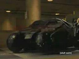 Batman i kłopoty z pojazdem