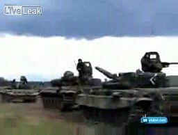 Walka człowieka z czołgiem