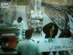 Nieudany napad na sklep