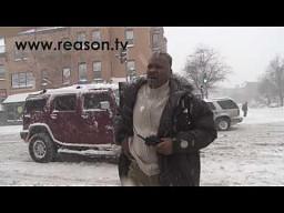 Walka na śnieżki po amerykańsku