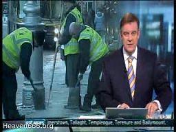 Atak zimy w Dublinie