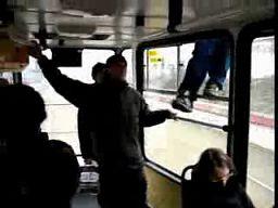 Nietypowa jazda tramwajem